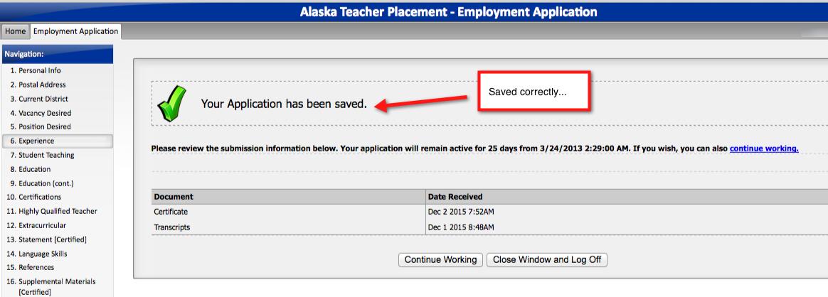 Alaska Teacher Placement Forums View Topic Applitrack Problems