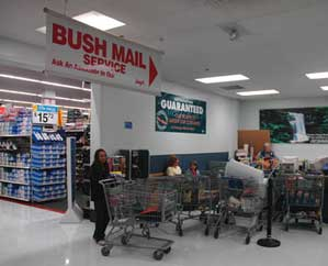 Walmart Dimond Center - Bush Order
